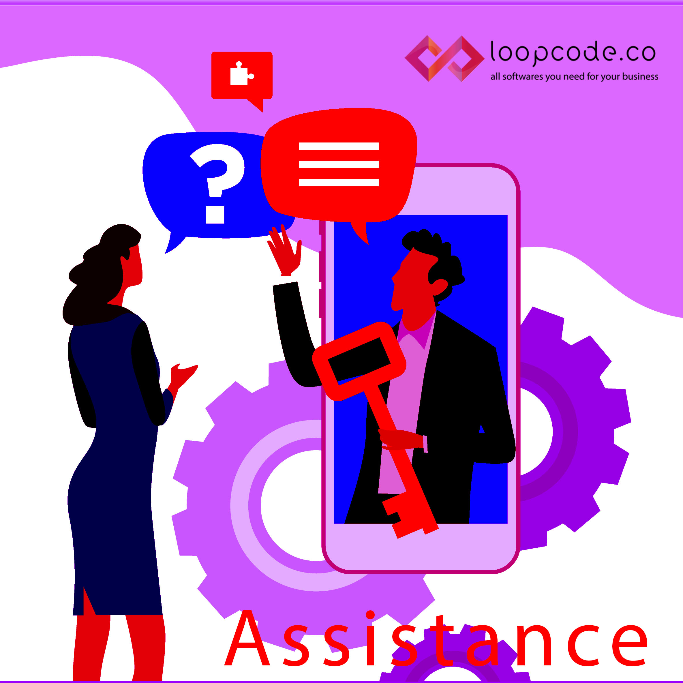 loopcode.co Asistan - Business