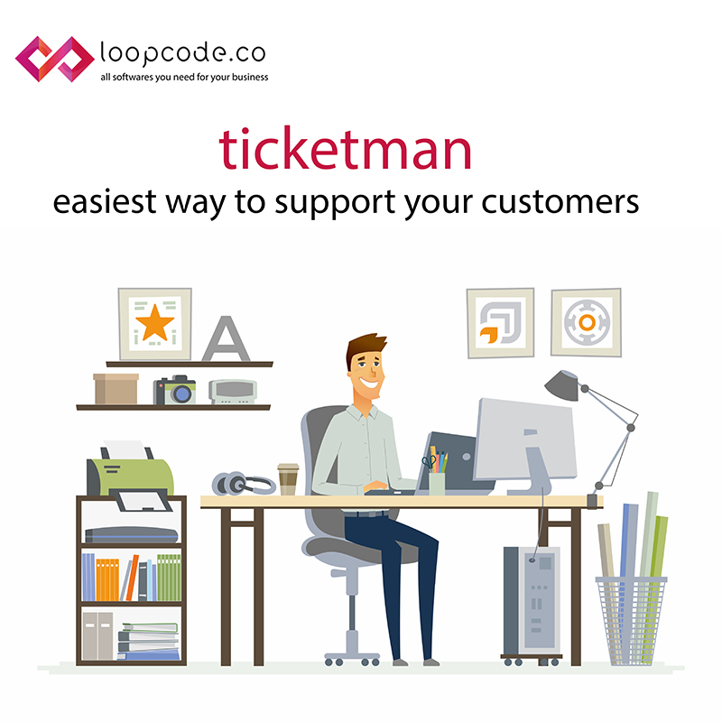 Ticketman - Customer Supoort Software